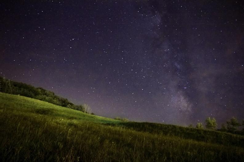 Una carezza nella notte (Foto di Giovanni Baldi)